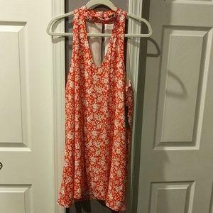 NWT Lulu's floral mini dress
